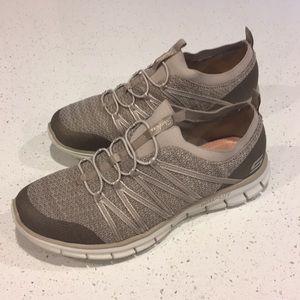 Skechers Dual-Lite Slip On Sneakers